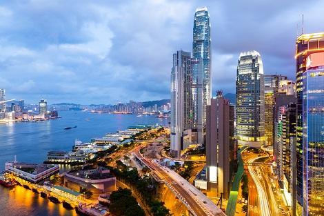 香港:ビクトリアハーバー