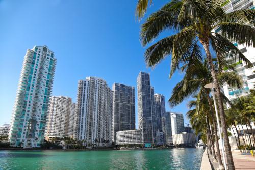 マイアミの高層ビル群