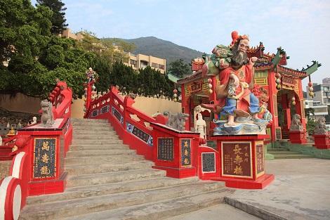 香港:レパルスベイの天后廟