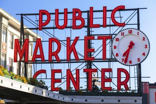 シアトル観光で絶対行きたい!パイク・プレイス・マーケットにある市場