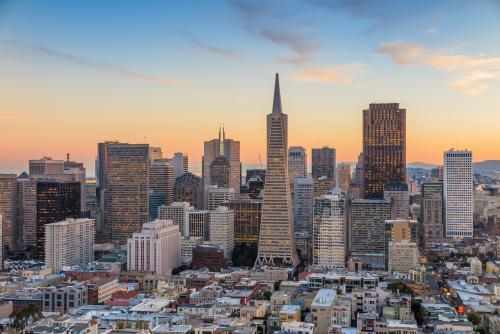 サンフランシスコの高層ビル群