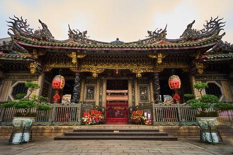 台北:台北最古の仏教寺院 龍山寺