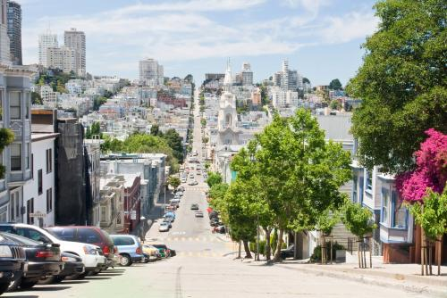 サンフランシスコ街並み