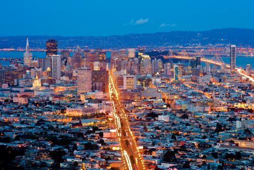 サンフランシスコ:夜景