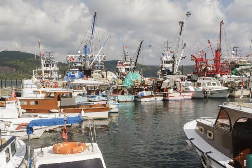 フィッシャーマンズワーフの漁船