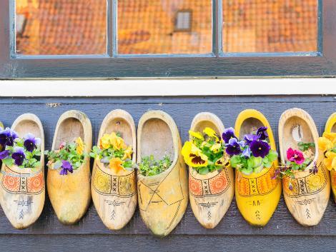 ◇オランダ:伝統的な木靴