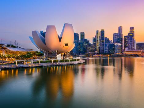 シンガポール:マリーナエリア
