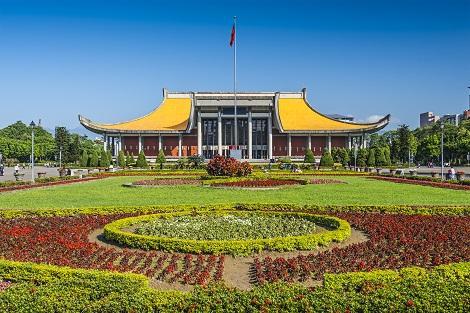 台北:憩いの広場 国父記念館