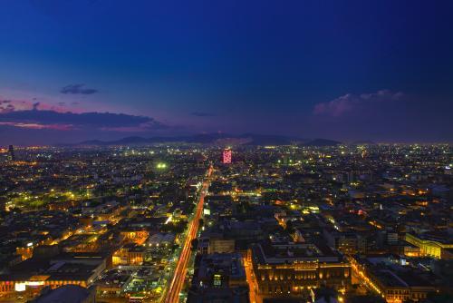 メキシコシティの夜景