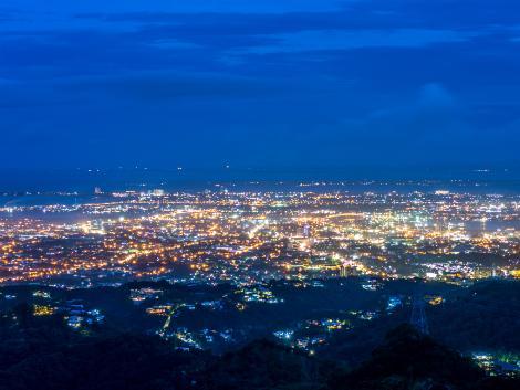 ◇◎セブ:山頂展望台(トップス)夜