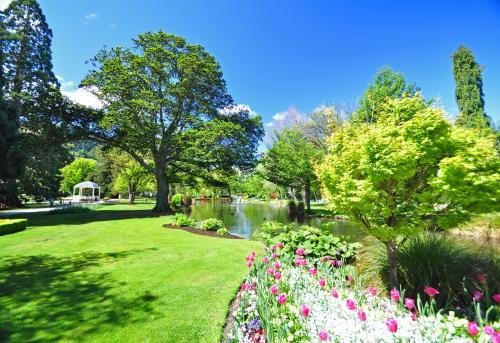 クイーンズタウンの植物庭園