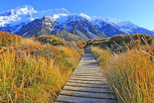絶景のマウントクック国立公園を歩こう