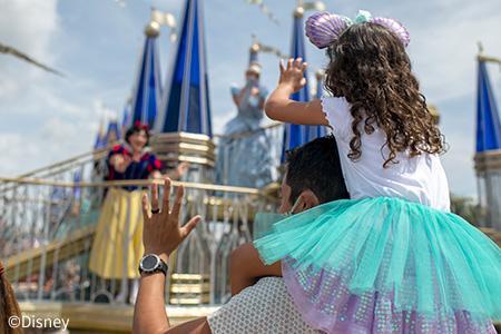 フロリダ ウォルト・ディズニー・ワールド・リゾート(シンデレラ城)©Disney