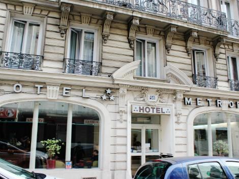 パリ:メトロポール 外観