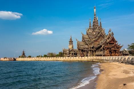パタヤ:タイの大富豪により作られた建造物・サンクチュアリ・オブ・トゥルース