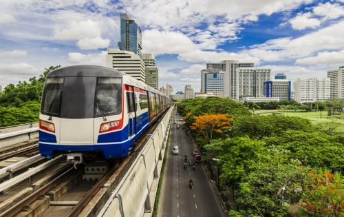 バンコク:渋滞知らずで快適移動♪スカイトレイン