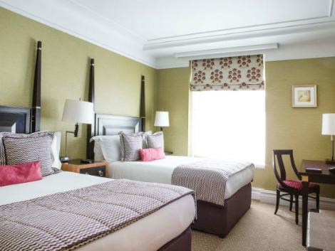 ロンドン:セント アーミンズ ホテル 客室一例