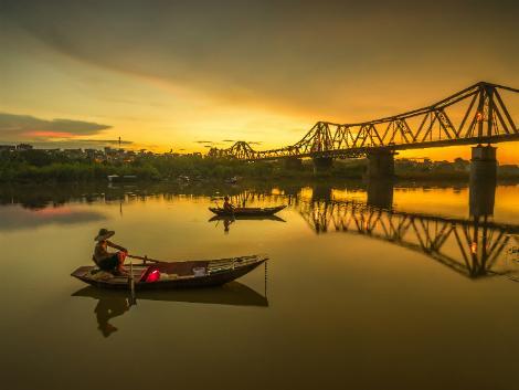 ハノイ:ロンビエン橋