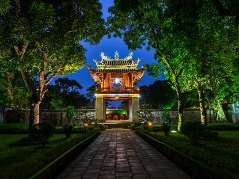 ハノイ:孔子廟