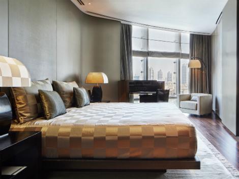 ドバイ:アルマーニ ホテル ドバイ 客室一例