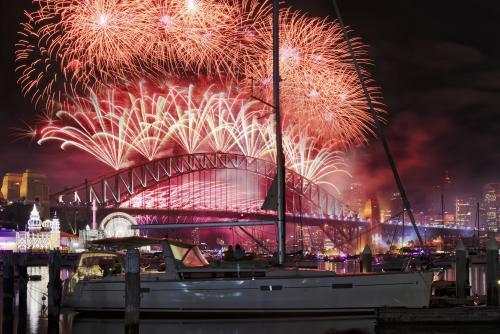 シドニー年末カウントダウン(イメージ)