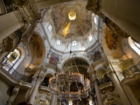 ◇◎プラハ:聖ミクラーシュ教会内部