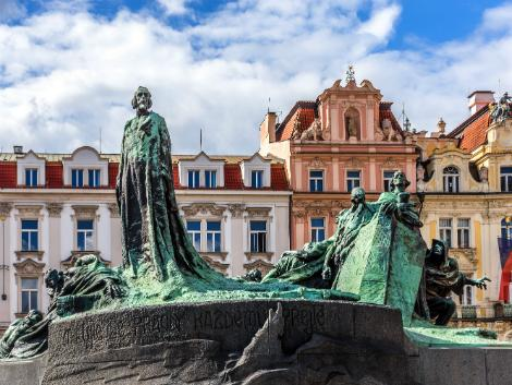 ◇◎プラハ:ヤン・フス像
