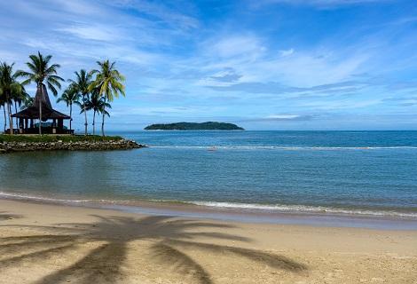 コタキナバル:ビーチ