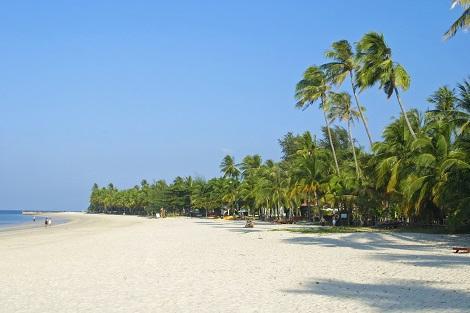ランカウイ:代表的なビーチ パンタイ・チェナン