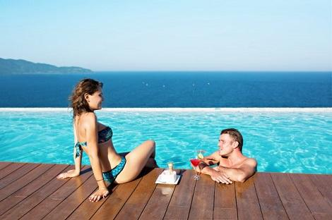 ダナン:アラカルト ダナンビーチ 屋上プール イメージ