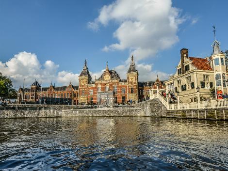 ◇◎アムステルダム:アムステルダム中央駅