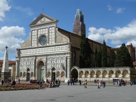 ◇◎フィレンツェ:サンタ・マリア・ノヴェッラ教会