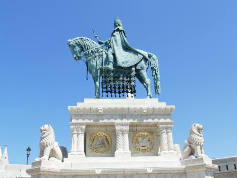 ◇ブダペスト:聖イシュトヴァーンの騎馬像