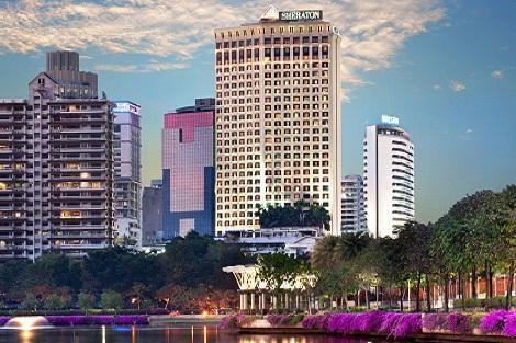 バンコク:シェラトン グランデ スクンビット 外観