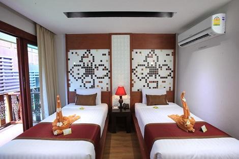ピピ島:ナチュラル リゾート ホテル 客室一例