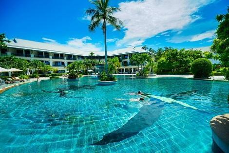 ピピ島:ピピ アイランド カバナ ホテル プール