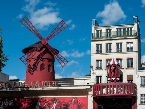 パリ:ムーランルージュ