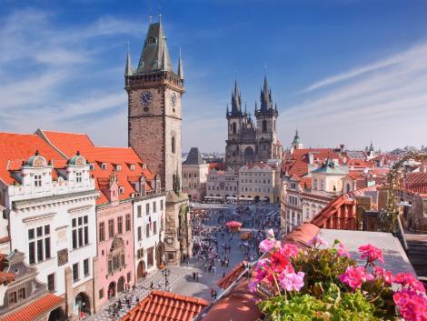◇旧市庁舎/プラハ旧市街