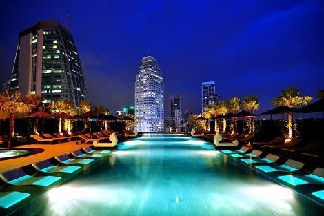 バンコク:グランデ センターポイント スクンビット ターミナル 21 プール