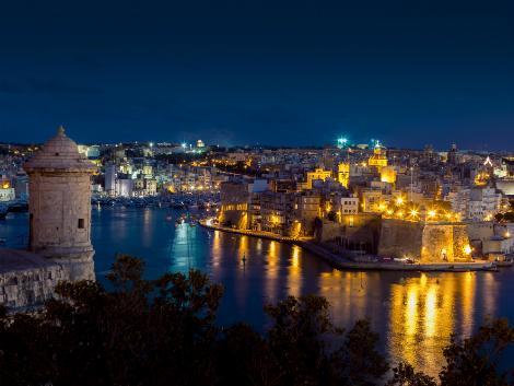 ◇◎マルタ(ヴァレッタ地区):夜景