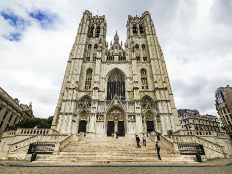 ◇◎ブリュッセル:サン・ミッシェル大聖堂
