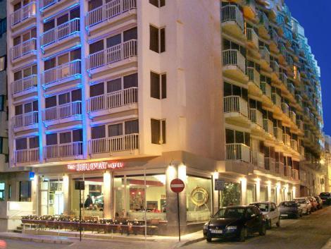 マルタ(スリーマ地区):ディプロマット ホテル 外観
