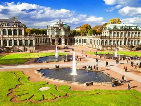 ◇◎ドレスデン:ツヴィンガー宮殿