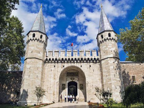 ◇◎イスタンブール:トプカプ宮殿の入口