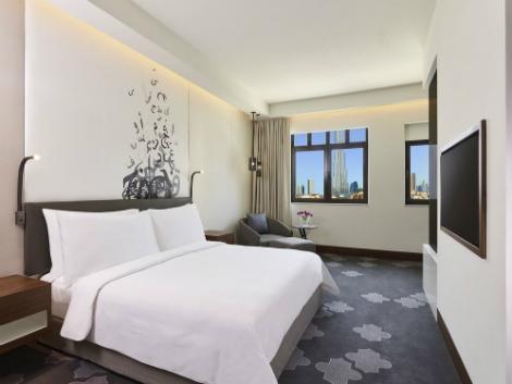 ドバイ:アル マンジル ホテル 客室一例
