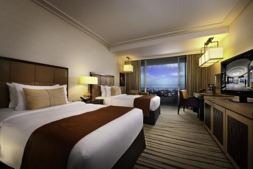 シンガポール:マリーナベイサンズ Premier Room Garden View 客室一例/提供:Marina Bay Sands