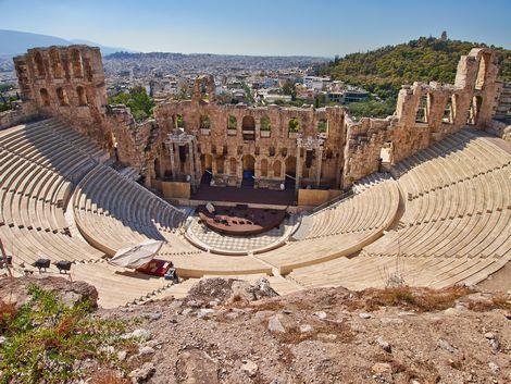 ◇◎アテネ:アクロポリスにある古代劇場
