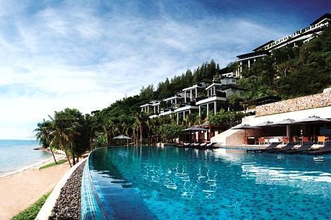 サムイ島:コンラッド コ サムイ リゾート アンド スパ 外観