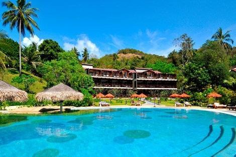 サムイ島:ザ トンサイベイ ビーチフロントスイート 外観