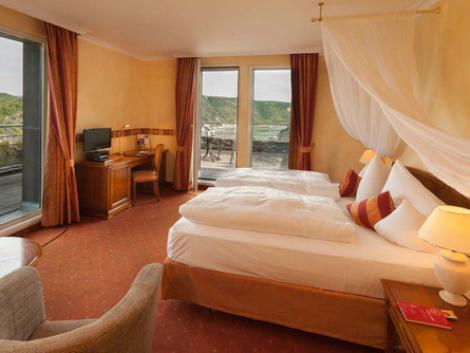 ザンクト ゴアー:ロマンティック ホテル シュロス ラインフェルス 客室一例